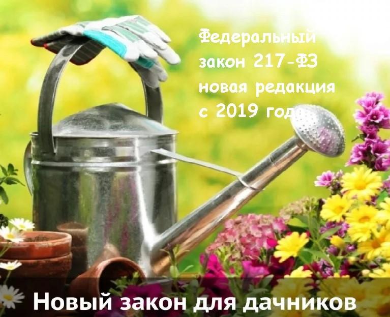 217 фз 2020г по садов товариществам